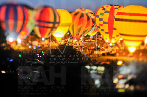 Hot air balloon festival. Baton Rouge, Louisiana.
