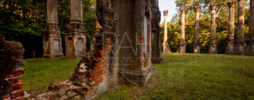 Windsor Ruins near Port Gibson, Mississippi.