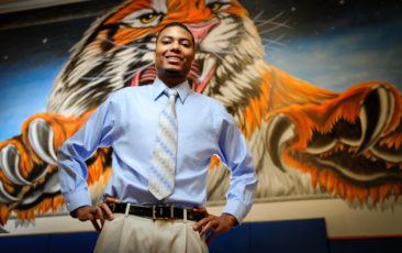 John Queen Jr., a senior at Belaire High School, is the winner of the 2011 Gates Millennium Scholarship.