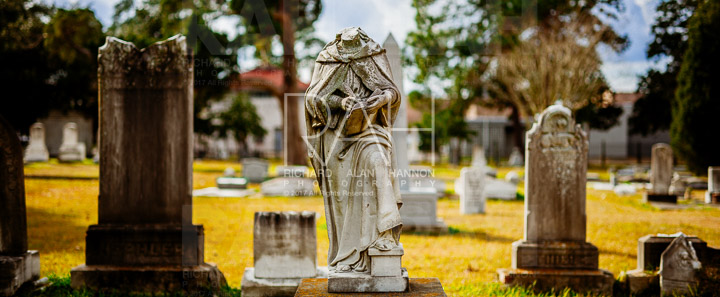 Magnolia Cemetery, Baton Rouge, Louisiana.  Photo by Richard Alan Hannon