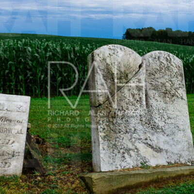 McFall Cemetery, Perrysville Ohio. Photo by Richard Alan Hannon