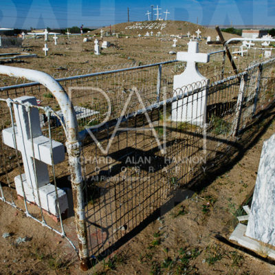 San Jose Cemetery off Interstate 25 in Albuquerque, New Mexico. Photo by Richard Alan Hannon