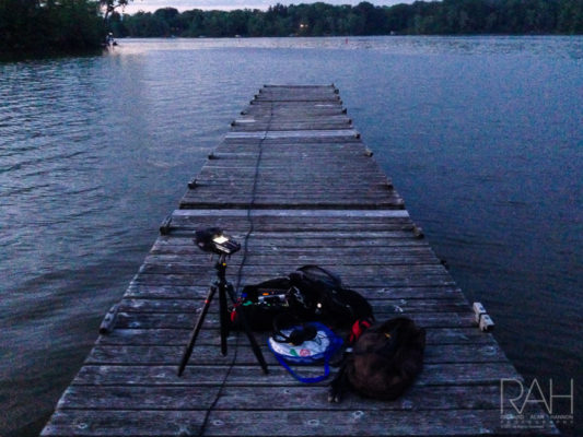 Sound recording of a Memorial Day weekend fireworks show at Charles Mill Lake in north central Ohio. Photo by Richard Alan Hannon