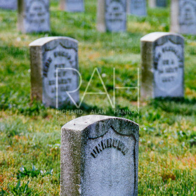 Unknown soldier's grave. Arlington National Cemetery. Photo by Richard Alan Hannon