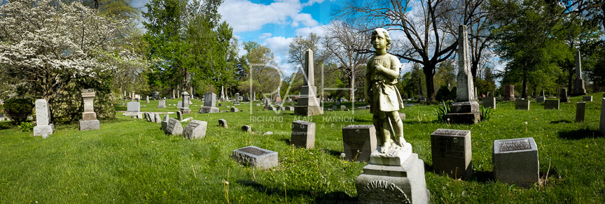 Cemetery in north central Ohio on May 7, 2017. Photo by Richard Alan Hannon