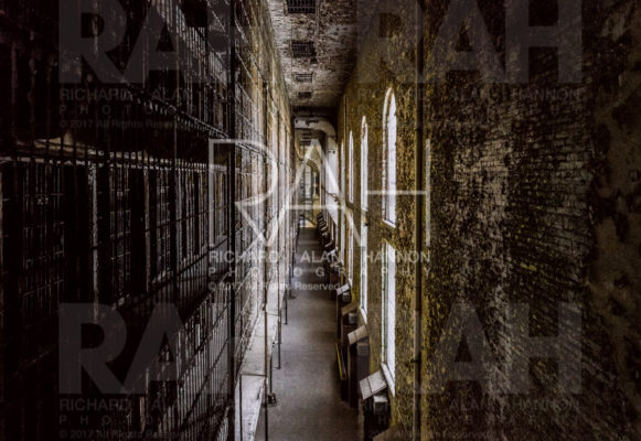 Sound recording at the Ohio State Reformatory in Mansfield, Ohio on Monday, February 6, 2016. Photo by Richard Alan Hannon