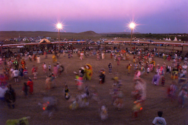 Red Natons Pow-Wow. Wyoming. Photo by Richard Alan Hannon